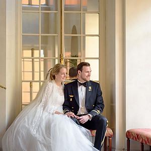Bröllop på Van der Nootska palatset