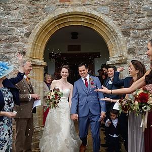 Bröllop i Devon, UK
