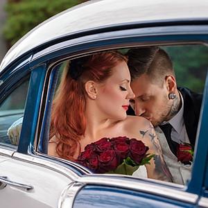 Rockabilly bröllop på Södermalm