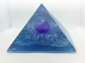 Orgonite Piramide Kosmos
