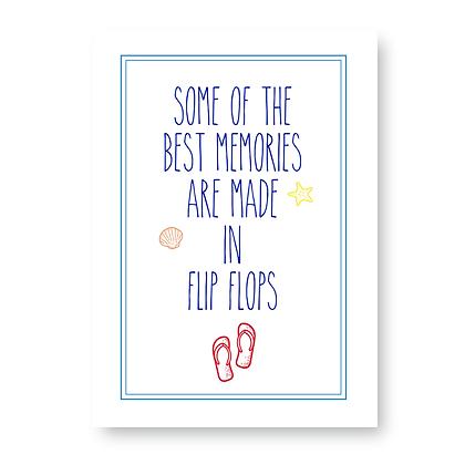 Flip Flop Print!