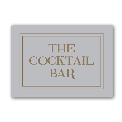 Cocktail Bar Sign, The Cocktail Bar Sign, Cocktail Sign