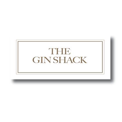 The Gin Shack Sign, Gin Door Sign, Gin Gift, Gin Shack