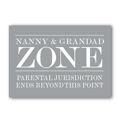 Nanny & Grandad Zone!