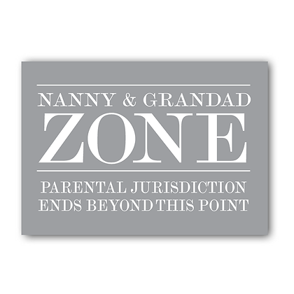 Nanny & Grandad Zone...