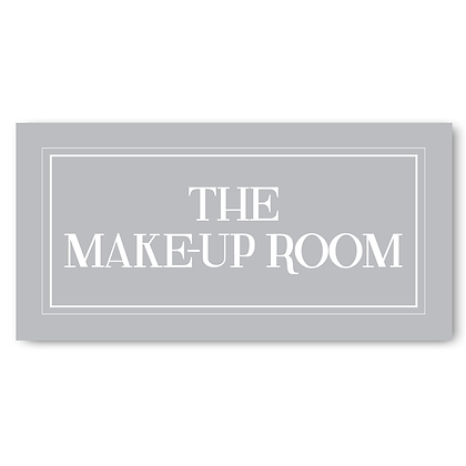 The Makeup Room - Sign