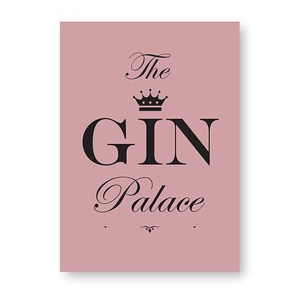 Gin Palace Sign, Gin Sign
