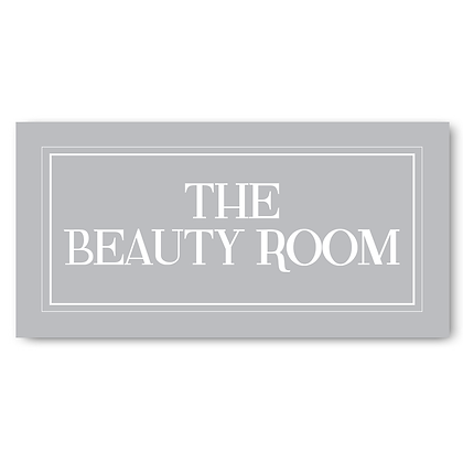 The Beauty Room - Sign