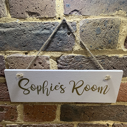 Sophie's Room Rustic Sign