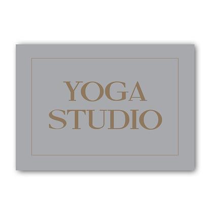 Yoga Studio Sign