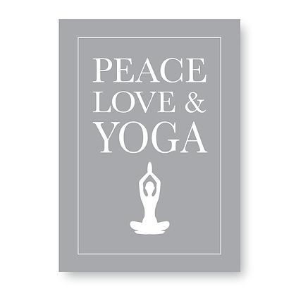 Peace Love & Yoga!
