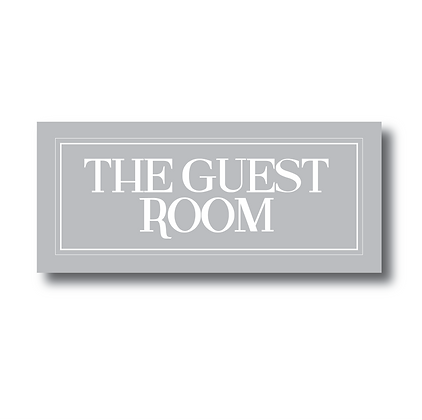 The Guest Room - Sign