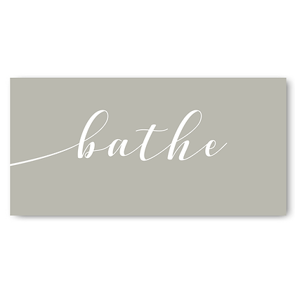 Bath  Sign, Bathroom Door Sign