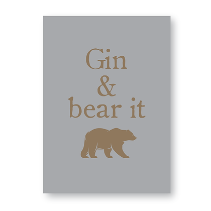 Gin And Bear It!
