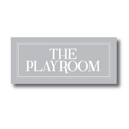 The Playroom - Sign