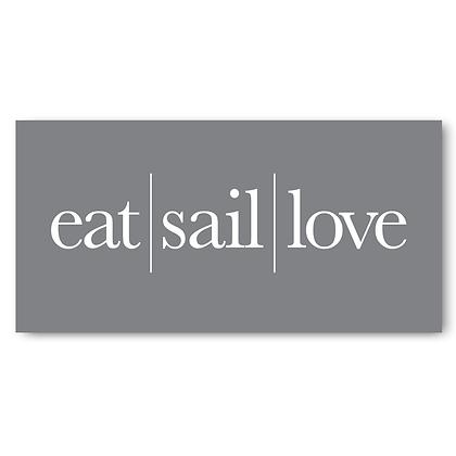 Eat Sail Love
