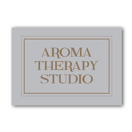 Aroma Therapy Studio Sign, Aroma Therapy Sign
