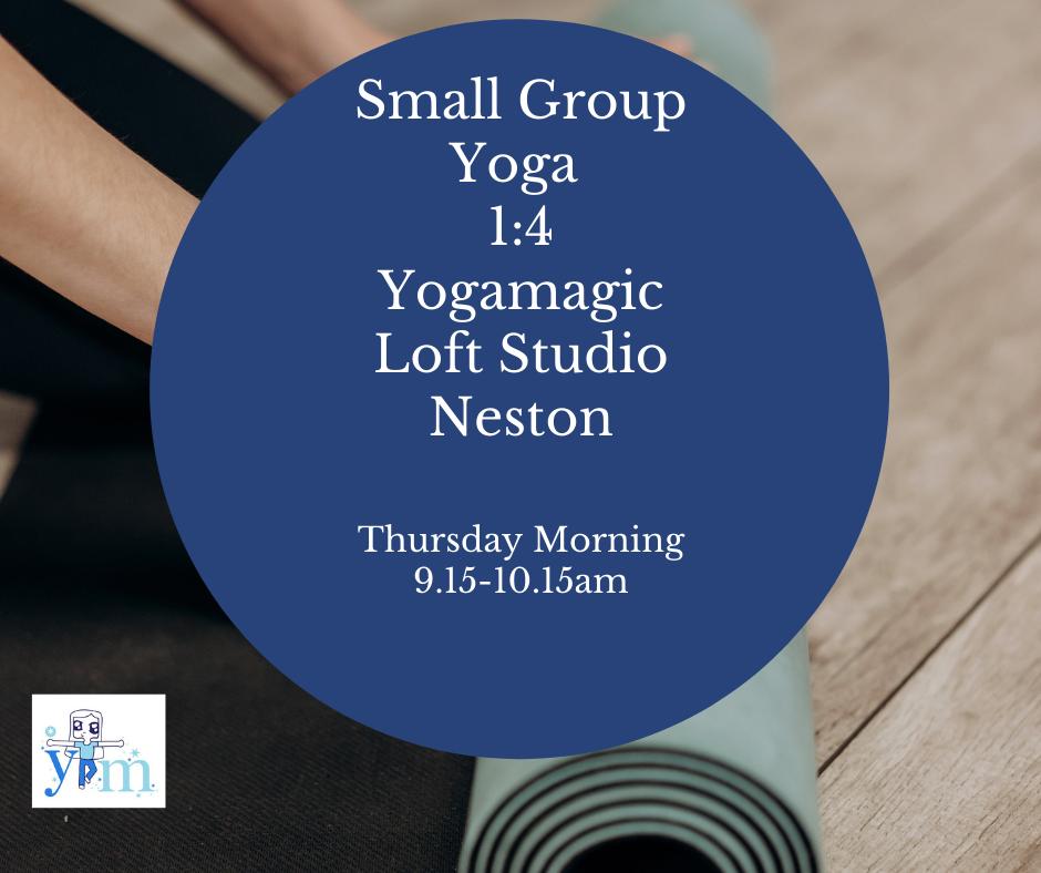 November Thursday Small Group Yoga 9.15