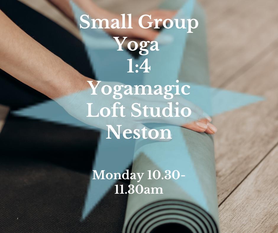 Monday Small Group Yoga - September