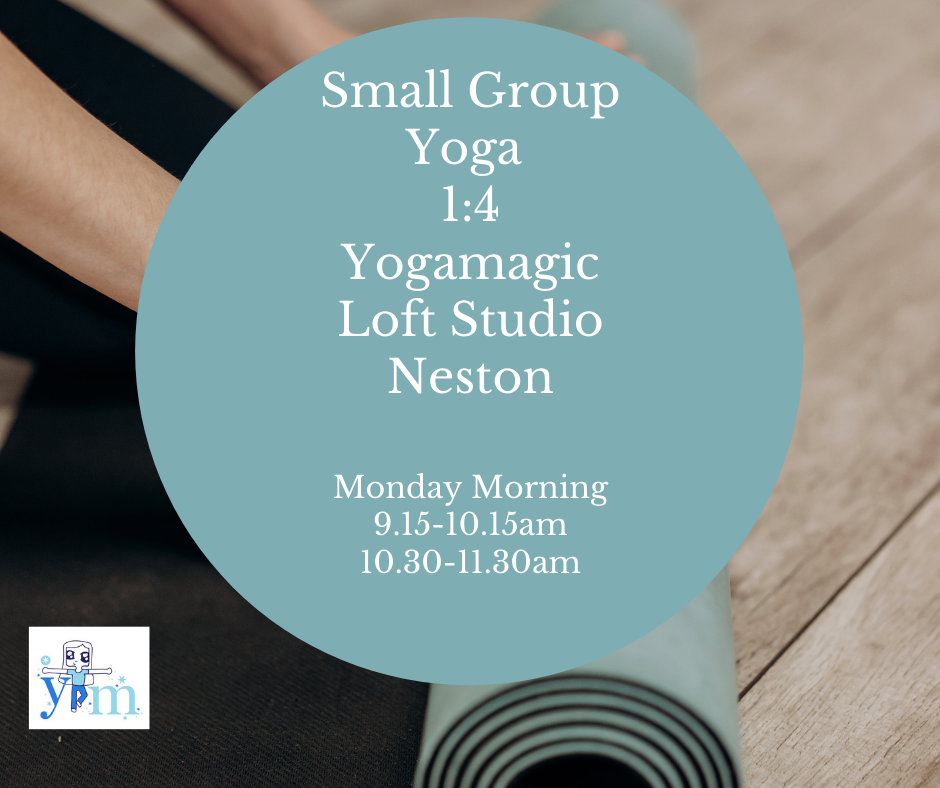 Nov Monday Small Group Yoga 9.15 session