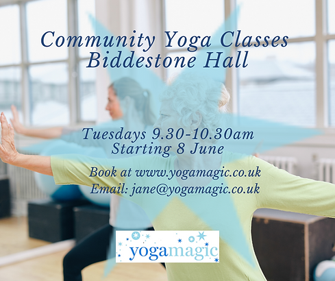 Wix Yoga Biddestone Hall Tuesday 9.30-10