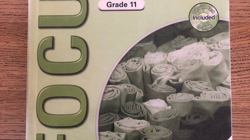 Grade 11 Consumer Studies Teacher's Guide