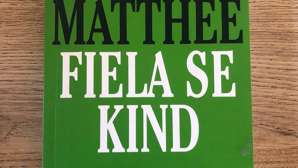 Dalene Matthee- Fiela Se Kind Reading Book
