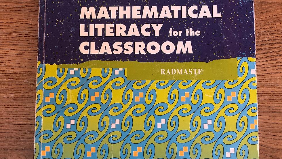 Grade 12 Maths Literacy Learner's Book