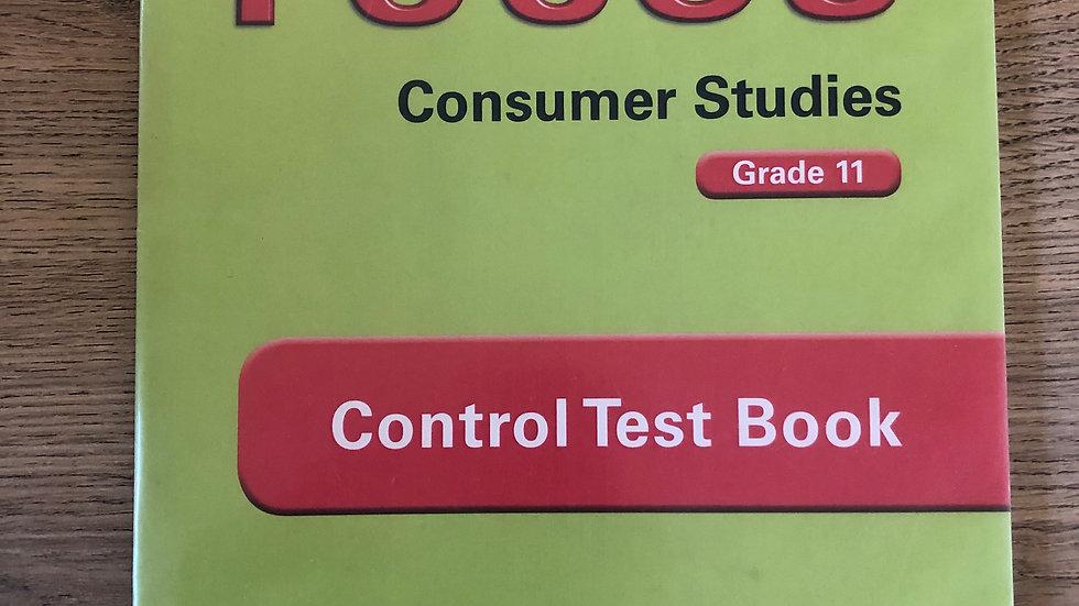Grade 11 Consumer Studies Control Test Book