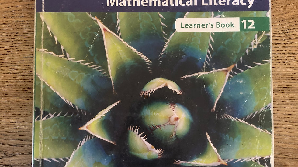 Grade 12 Maths Literacy Textbook