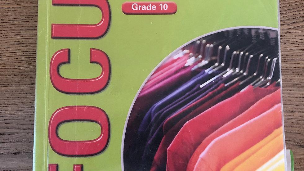 Grade 10 Consumer Studies Textbook