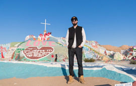 Abstract at Salvation Mountain