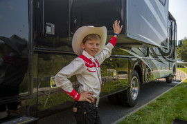 Mason Ramsey at the Hey Stamford Food Festival
