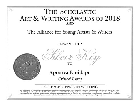 The Scholastic Art and Writing Awards