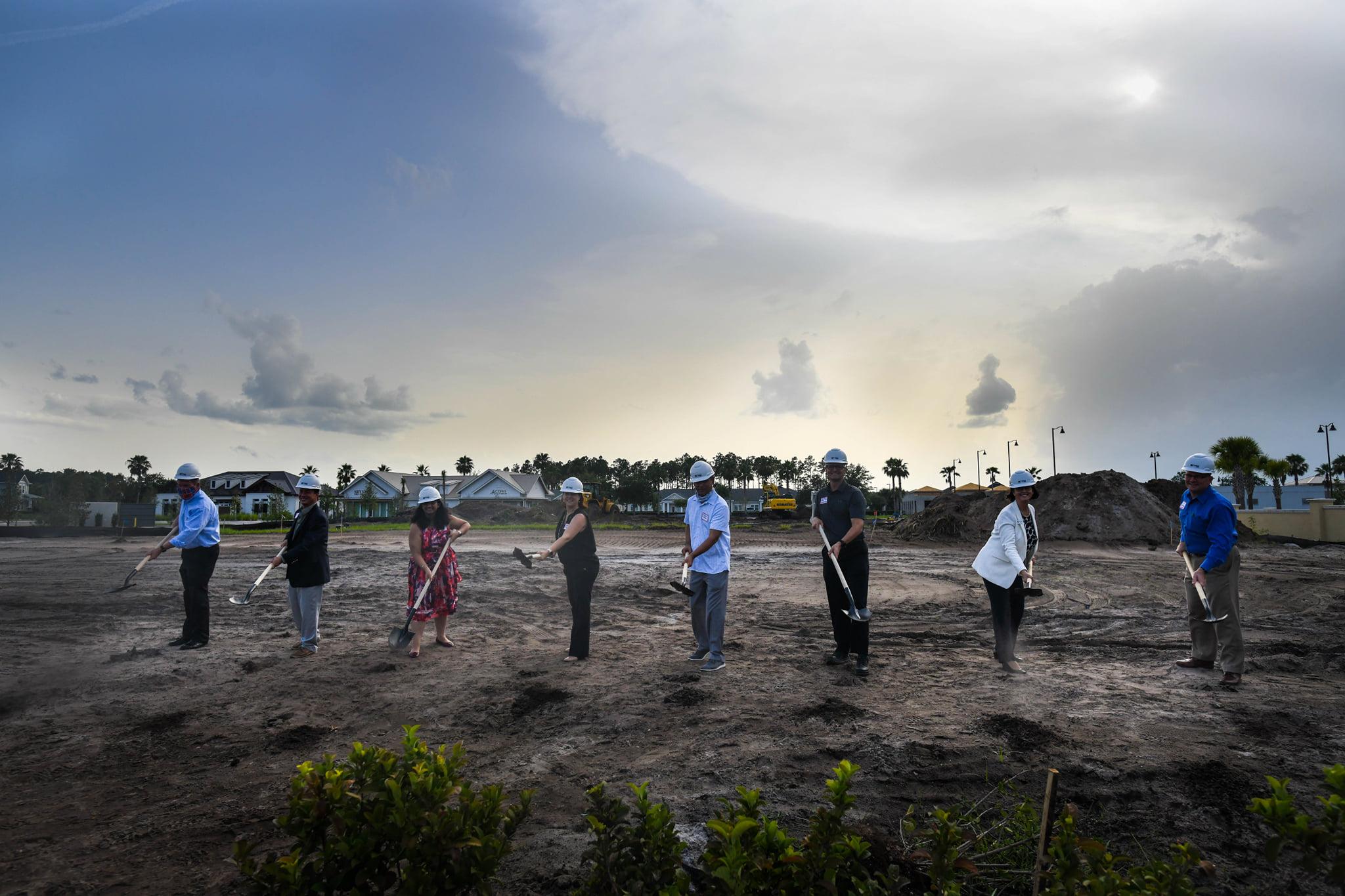 The Link Ground Breaking Ceremony in Nocatee, Florida