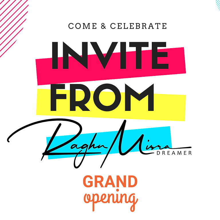 Invite from the Founder: Grand Opening of the link