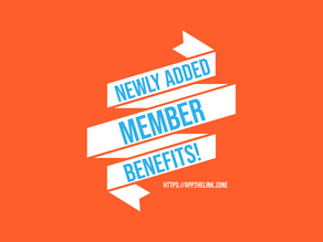 New complimentary benefits to our members!