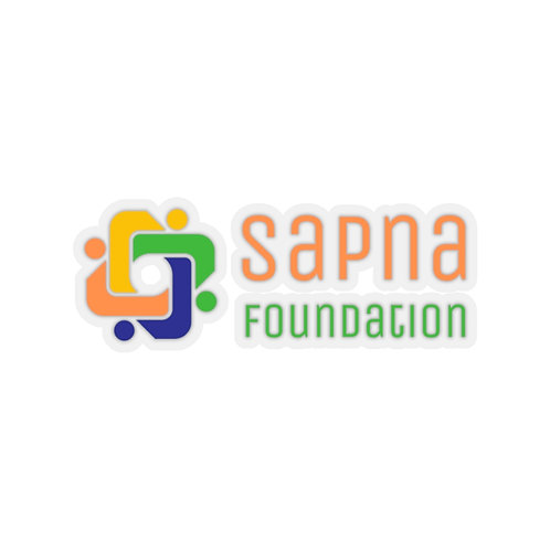 Sapna Foundation Cut Stickers