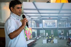 Raghu Misra Presenting New Space