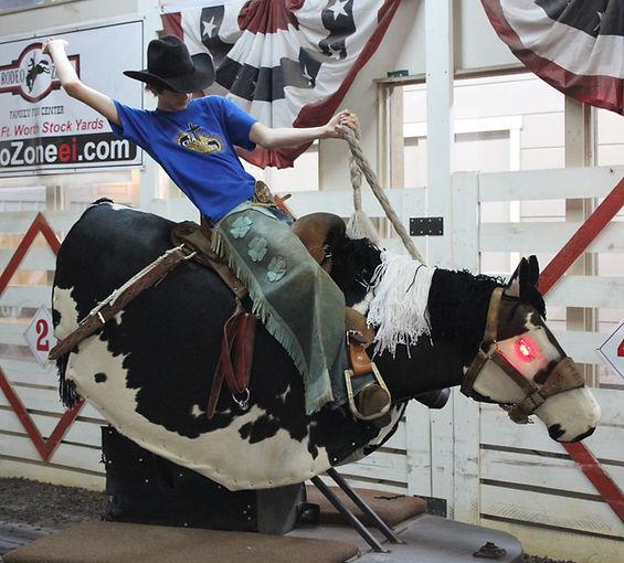 Robo Bronc, mechanical horse