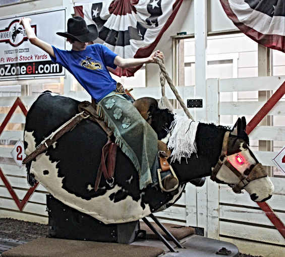 Robo Bronc, mechanical horse