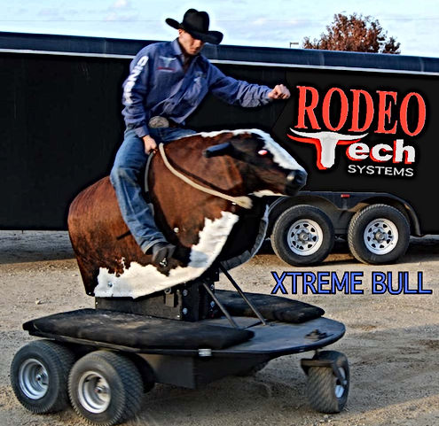 Robo Bull Xtreme, mechanical bull