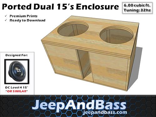 """Dual 15"""" Box Design"""