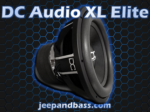 DC Audio XL Elite 15""