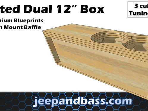 """Dual 12"""" Box Design"""