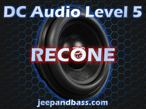 DC Audio Level 5 Recone