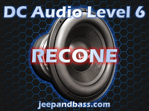 DC Audio Level 6 Recone