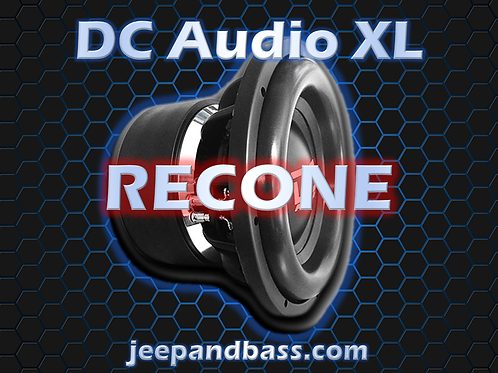 DC Audio XL Recone