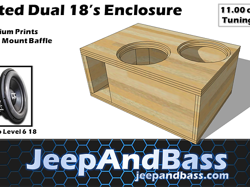 "2 18"" Box Design (Fits Tahoe/Suburban))"