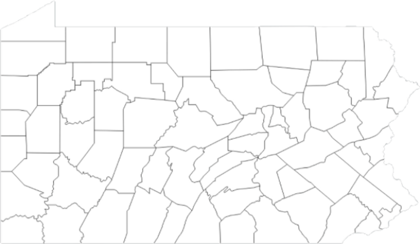 Blank PA County MAP.png